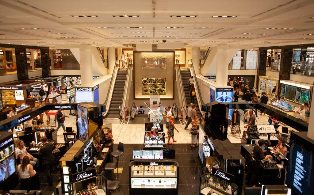 retail sales europe