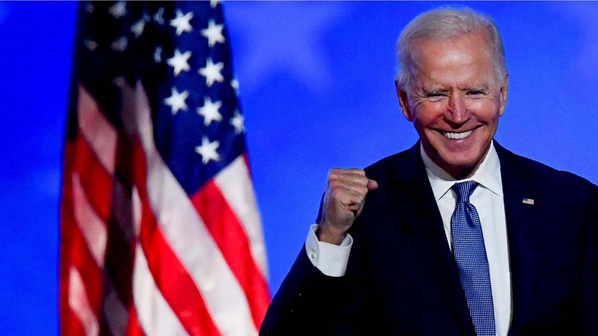 Joe Biden becomes the 46th US president