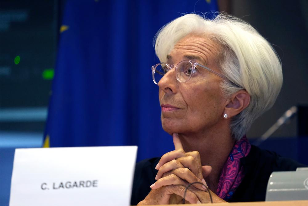 christine lagarde ECB