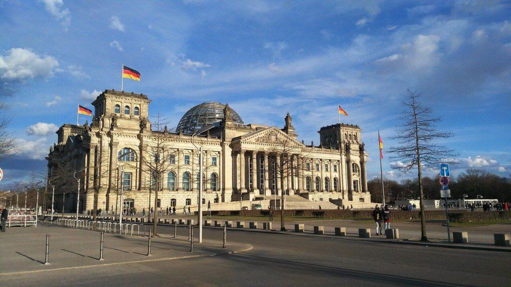 Germany Berlin Bundestag building