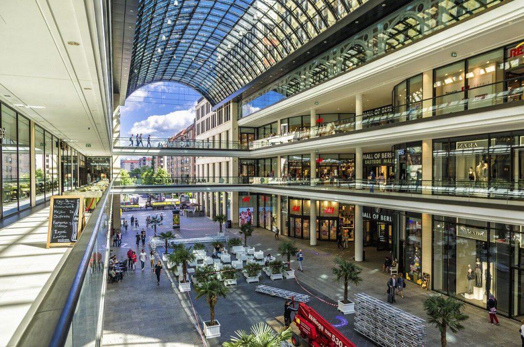 Germany Berlin market mall